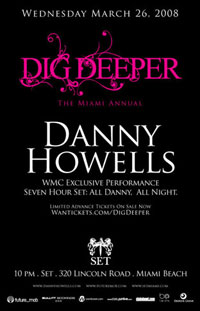 Dig Deeper With Danny Howells Wednesday March 26: Dig Deeper With Danny Howells